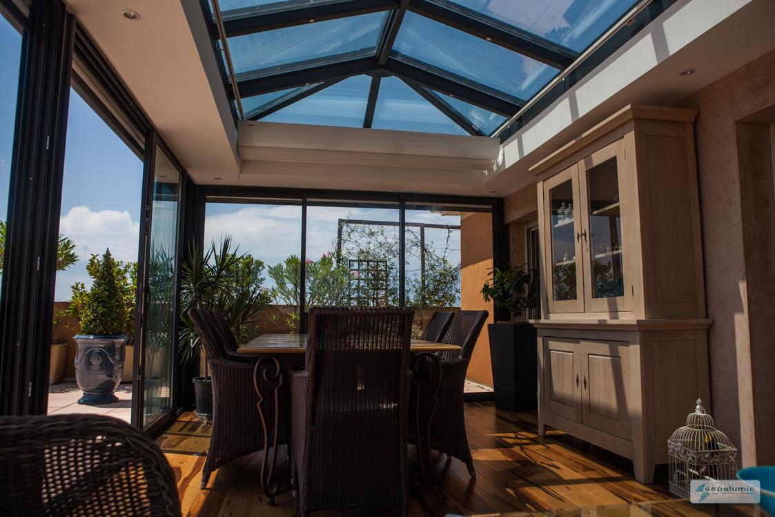 veranda moderne espace vie accueil design et mobilier. Black Bedroom Furniture Sets. Home Design Ideas