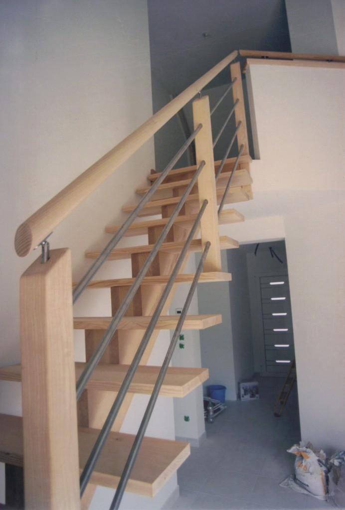 Escalier bois moderne
